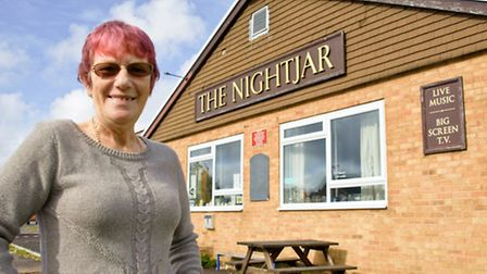 Di Bradley is now the official owner of the Nightjar pub.