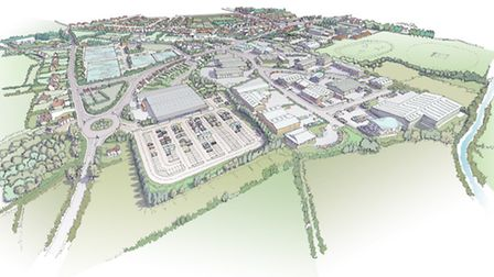 The plans for the Sainsbury's store.
