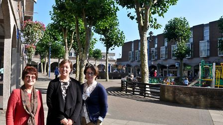 Nailsea Crown Glass Shopping Centre, named top five high street shops.