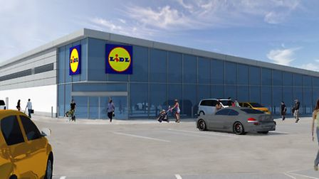 How Weston's Lidl could look (Picture: Lapworth Architects).