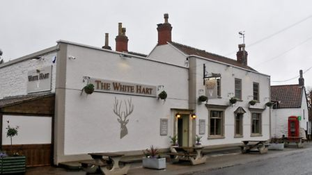 White Hart pub Weston - in - Gordano.