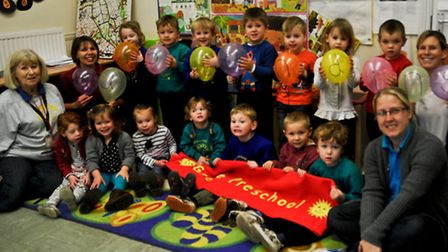 Grove Preschool , Nailsea outstanding Ofsted.