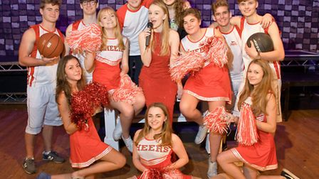 The cast of High School Musical.
