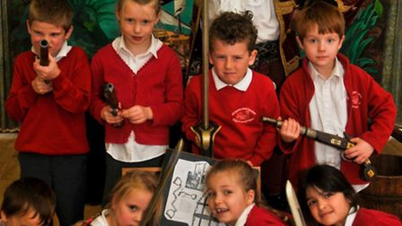 All Saints Primary School, Clevedon,Pirate Captain Barnacle.
