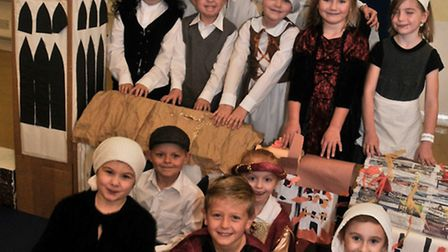 Mary Elton Primary School, Clevedon Great fire of London WOW day.