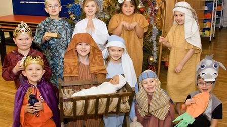 Hannah More Infants year two nativity.