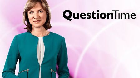 Fiona Bruce, presenter of the BBC's Question Time