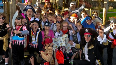 Northleaze Primary School the whole school will be dressing up as pirates to celebrate literacy week