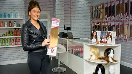 New hair extensions shop called Hair Boutique.