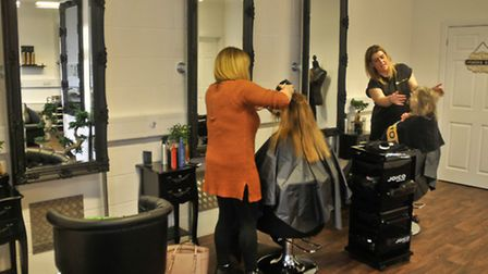 Beaujolais Costley new business Beaujolais Hair Studio , Kestrel Court, Portishead.