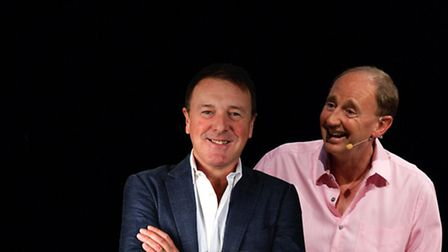Jonathan Agnew and Phil Tufnell.