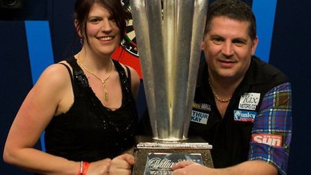 Gary Anderson wins in January.