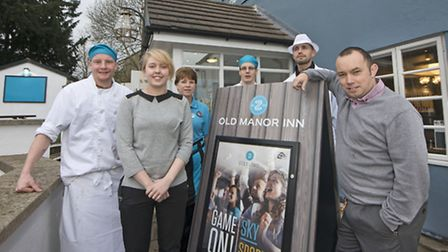 The team at the Old Manor Inn.