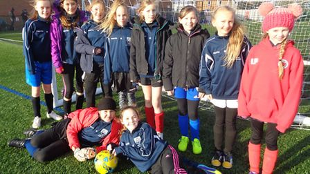 The girls lost out despite winning four of their five matches.