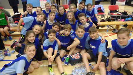 High Down Junior School came fourth in the regional tournament.