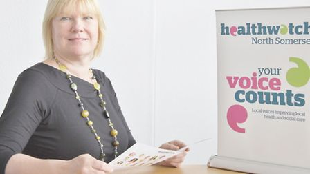 Eileen Jacques, chief officer at Healthwatch North Somerset.