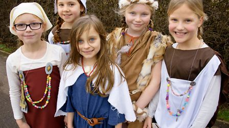 Young Vikings at Flax Bourton Primary School.