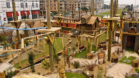 Weston is already home to a pirate adventure golf course - could Cadbury's one look something like t