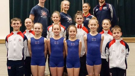 Weston gymnasts selected for GB.