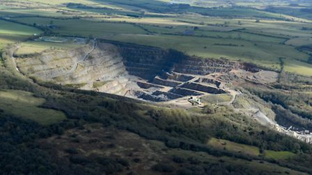 The Callow Rock Quarry in Shipham.