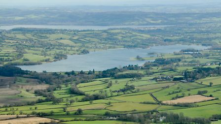 Blagdon Lake and Chew Valley Lake looked majestic in the sunlight.