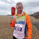 Anthony Phippard is raising money for Weston Hospicecare.