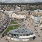 Views of the seafront from above on the wheel. Photo by Nick Page-Hayman.