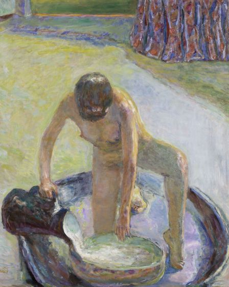 Nude in the Bath c. 1936-8, by Pierre Bonnard Picture: Tate