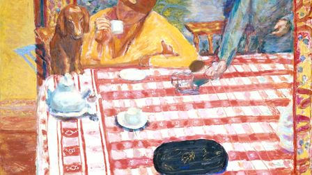Coffee, c. 1915, by Pierre Bonnard Picture: Tate