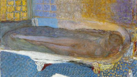 Nude in the Bath, c. 1925, by Pierre Bonnard Picture: Tate