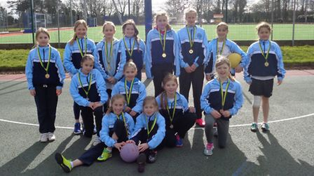 Portishead Primary School pupils have won the year five and six North Somerset netball title.