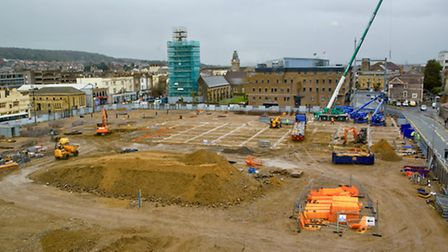 Old Dolphin Square site in Oxford Street.