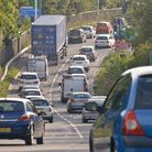 The police say traffic is bad on the M5 this afternoon (Thursday).