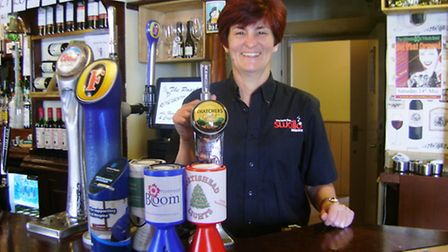 Sarah Collins is the new manager at The Poacher.