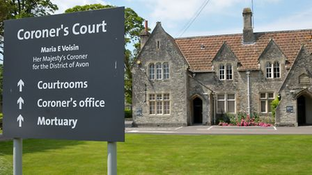 The inquest took place at Flax Bourton Coroners' Court.