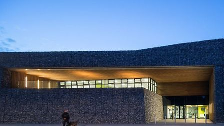 Blackrock Quarry Training Centre which has won an award for architecture.