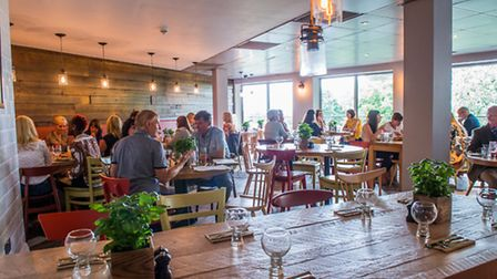 The restaurant is named after the Italian town on Lake Garda. Picture: Neil Phillips Photography.