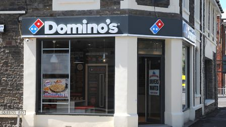 Domino's opened a new store in Clevedon last year.