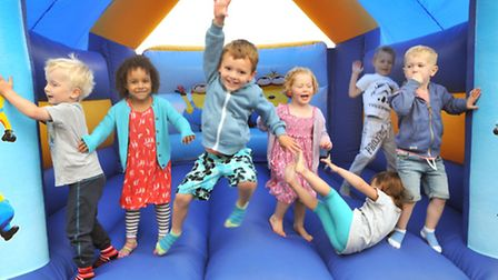 A summer fair was held on Saturday at Busy Bees Nursery. Picture: Jeremy Long.
