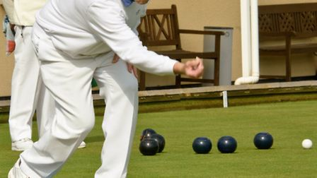 Danny Favis bowling for St Andrews.