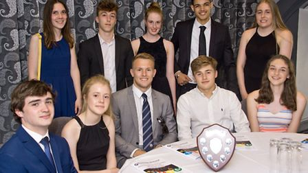 Top nominees with Nick Carpenter from Bristol Rugby Club.