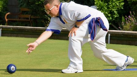 Brian Cracknell bowling for St Andrews.