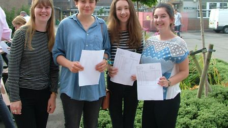 Emily Kew, Katy Jones, Emma Wood and Grace Maggs no planning their futures after picking up their ex