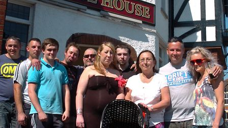 Regulars protested the potential closure of the Bristol House in 2012.