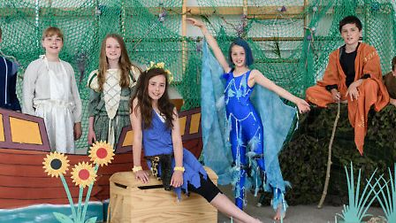 Fairfield School pupils staged The Tempest.