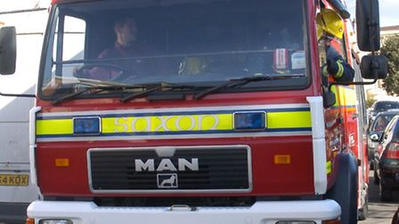 Avon Fire and Rescue Sevice was called out to Redhill, near Wrington, last night (Tuesday).