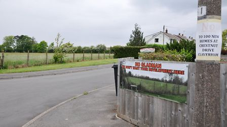 Local residents do not agree with the proposed developments.
