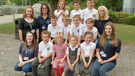 Nailsea School, kids and staff from Orca Kids Club.