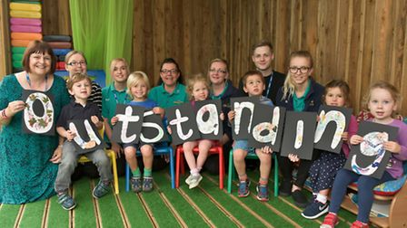 Honey Tree Day Nursery in Portishead has been rated outstanding by Ofsted.