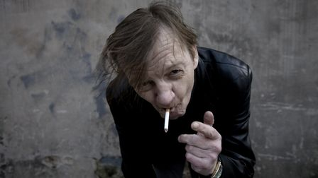 A portrait of Manchester musician Mark E Smith of The Fall, Salford, Manchester, 18th March 2011. (P